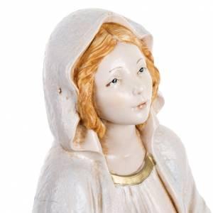 Madonna di Lourdes 30 cm Fontanini tipo porcellana s4