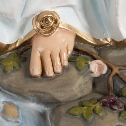 Madonna di Lourdes vetroresina 130 cm s9