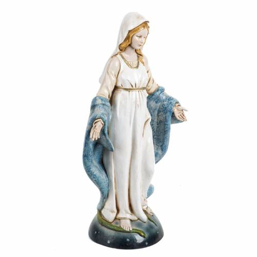 Madonna Immacolata 30 cm Fontanini tipo porcellana s2