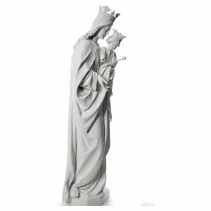 Maria Auxiliatrice 180 cm fibre de verre blanche s4