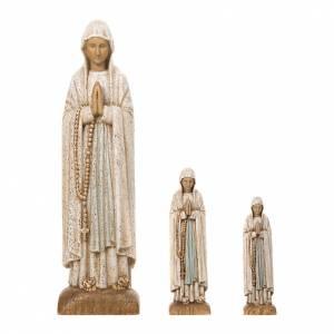 Statuen aus gemalten Holz: Maria im  Lourdes