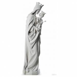 Mary Help of Christians statue in fiberglass, 180 cm s4