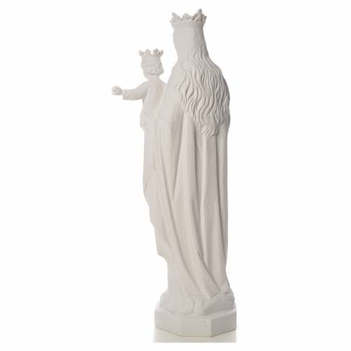 Mary Help of Christians statue in reconstituted marble, 100 cm s3