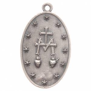 Medaglia Madonna Miracolosa 3,2 cm s2