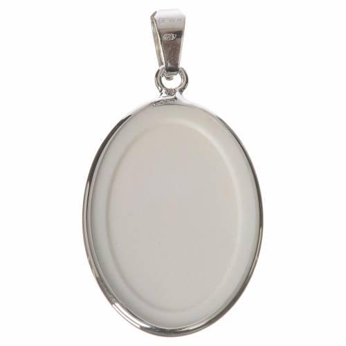 Medaglia ovale arg. 27 mm Giovanni XXIII s2