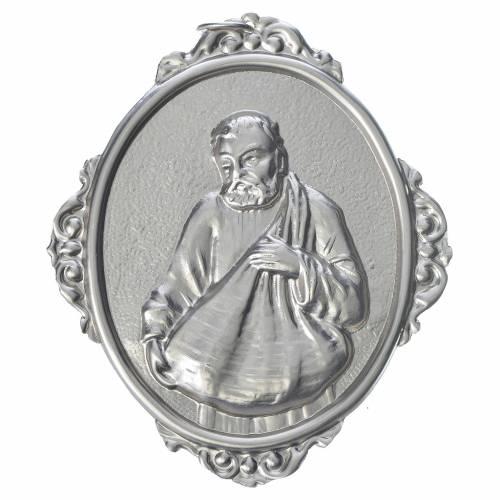 Medaglione confraternite San Felice ottone s1
