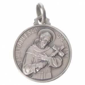 Médaille Saint François argent 925 s1