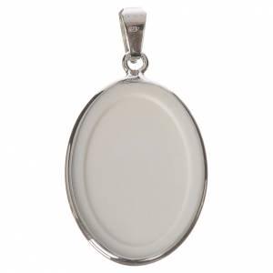 Medalla ovalada de plata, 27mm Juan XXIII s2
