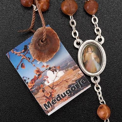 Medjugorje rosary beads seeds metal s4