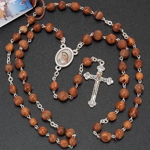 Medjugorje rosary beads seeds metal s2