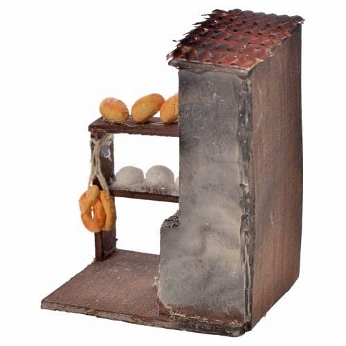 Mini four et pain crèche Napolitaine 8,5x5x6 cm s2