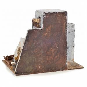 Mini maison arabe 26x22x22 cm crèche Napolitaine s4