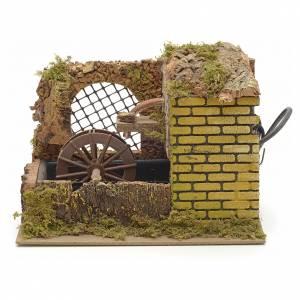 Moulins en miniature: Mini moulin à eau électrique 25x14x20 cm