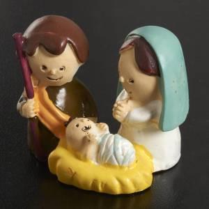 Mini Nativité enfants 3 cm résine s2