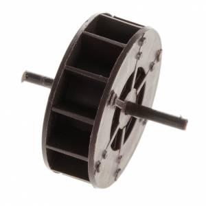Mini roue moulin à eau 5 cm crèche s1