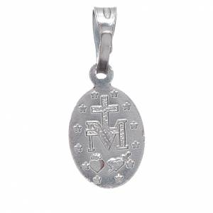 Miraculous medal in silver 800 1 cm h s2