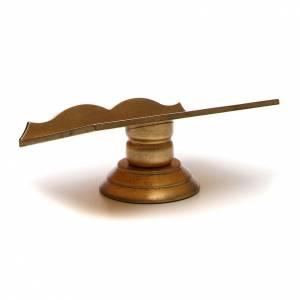 Missal stand, golden leaf s3