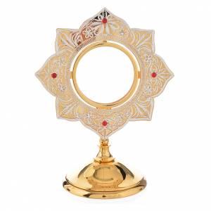 Monstrances, Chapel monstrances, Reliquaries in metal: Monstrance in brass, filigree
