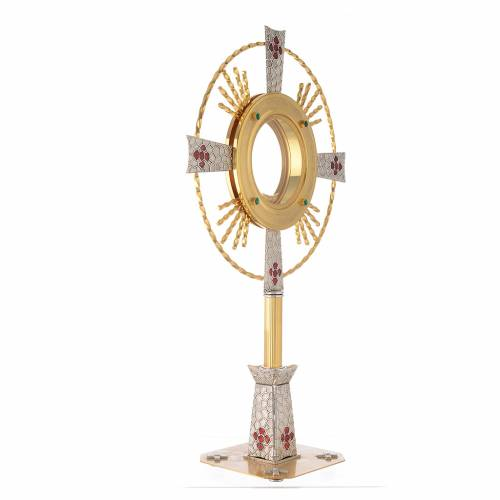Monstrance Magna host with enamels s3