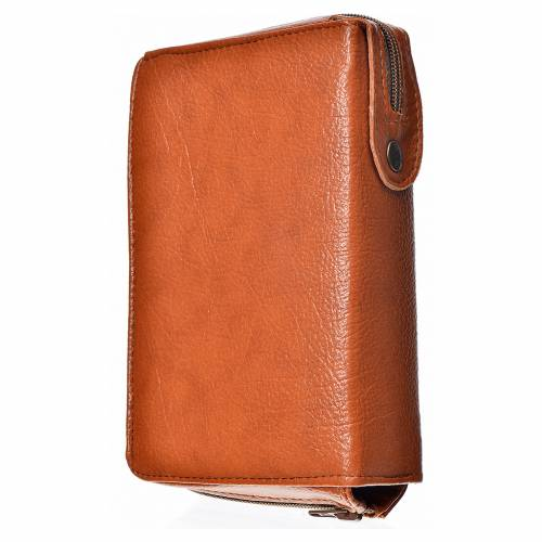 Morning and Evening Prayer cover, brown bonded leather s2