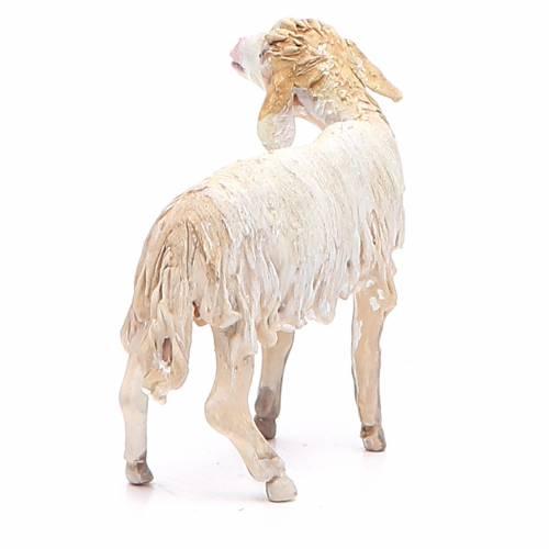 Mouton broutant 13cm crèche terre cuite Angela Tripi s3