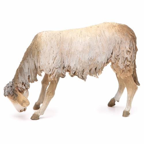 Mouton qui broute 30 cm crèche Angela Tripi s2