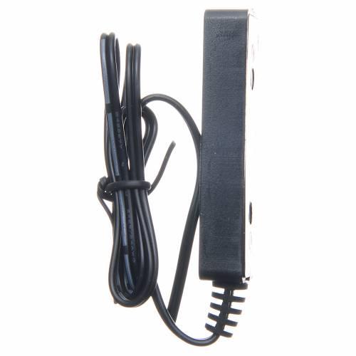 Multiprise 3.5v-4v pour transformateur avec 50 cm de câble bas voltage s4