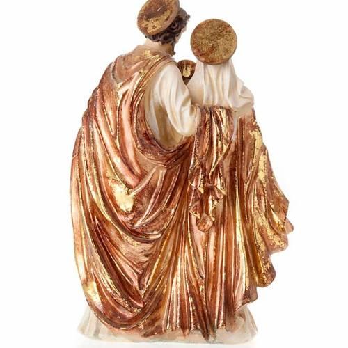 Sacra Famiglia dorata 34 cm 3