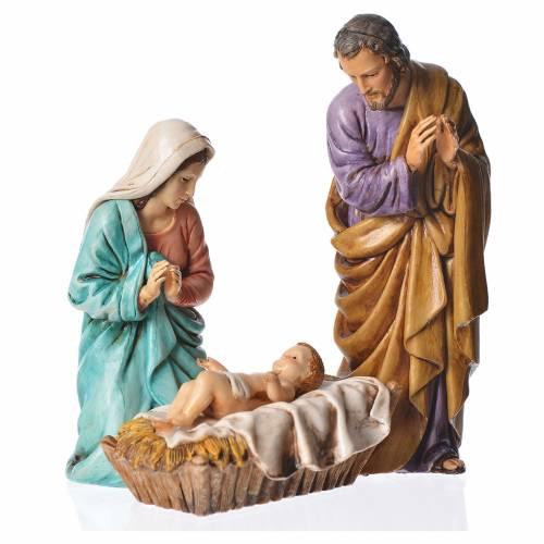 Nativité 13 cm crèche Moranduzzo 3 personnages s1