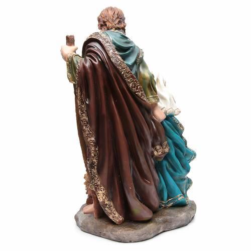 Nativité résine 3 personnages 70 cm s3