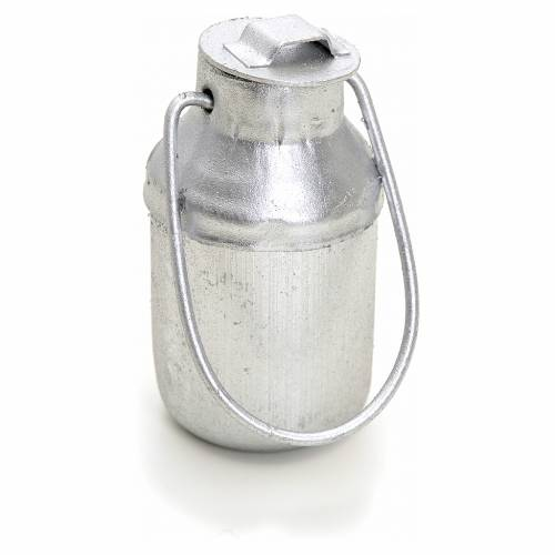 Nativity accessory, milk metal container for do-it-yourself nati s2