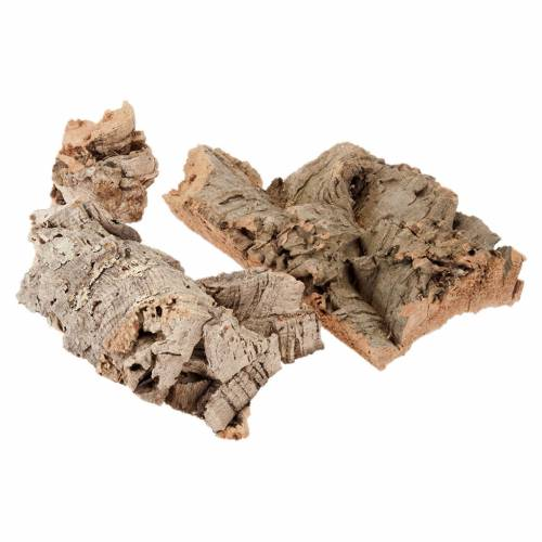 Nativity accessory, pieces of cork 300gr s1