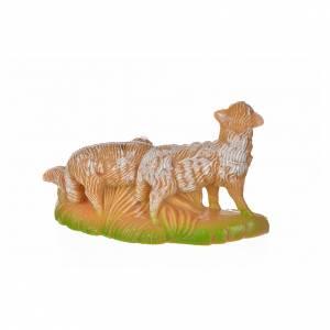 Nativity figurine, group of sheep 12 cm s2