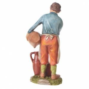 Nativity figurine, man with amphorae, 30cm resin s6