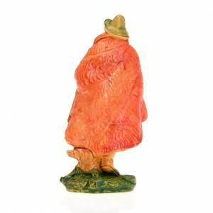 Nativity figurine, shepherd fife and cloak 10cm s2