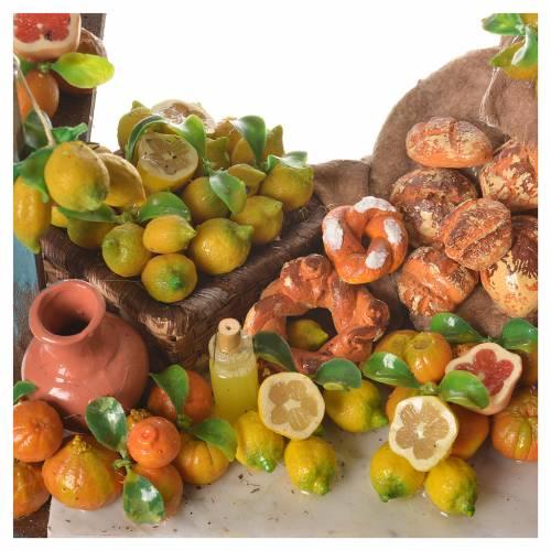 Nativity lemon stall, 41x23x15cm s10