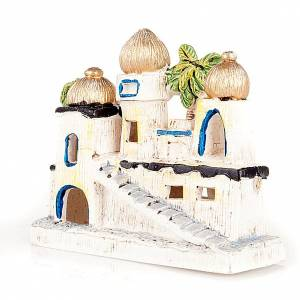 Nativity scene accessory, Arabic-style houses s3