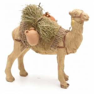 Nativity scene accessory, Camel standing up with harness 10 cm s1