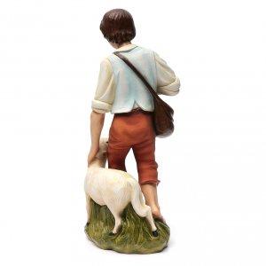 Nativity scene fiberglass figurine, shepherd and sheep 60 cm s10