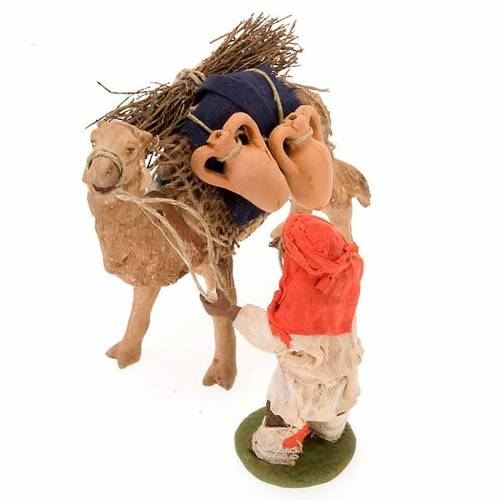 Nativity scene figurine Camel driver with camel 10 cm s3