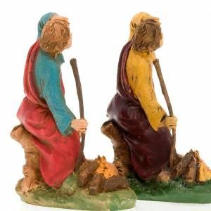 Nativity scene figurine Shepherd with dog 10cm s3