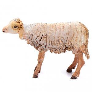 Nativity scene figurine, standing sheep 18cm, Angela Tripi s1