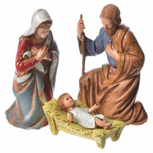 Nativity Scene by Moranduzzo: Nativity Scene figurines by Moranduzzo 8cm, 6 pieces