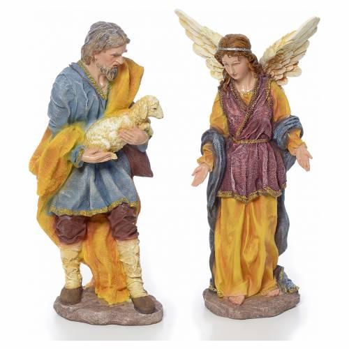 Nativity scene in resin, 12 figurines 63cm s4