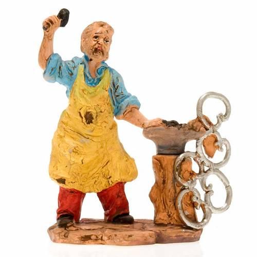 Nativity set accessory, Blacksmith figurine 13cm s3