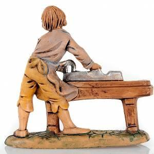 Nativity set accessory, Carpenter figurine 8cm s2