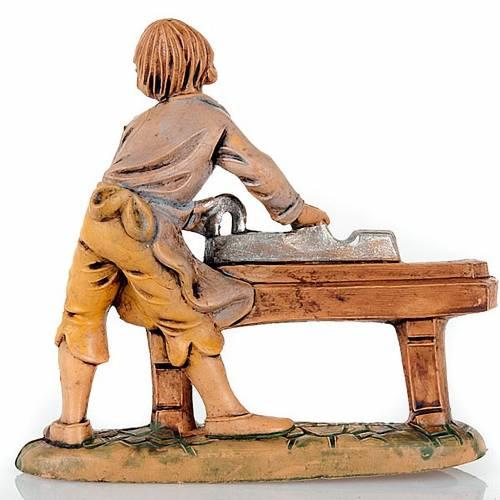 Nativity set accessory, Carpenter figurine 8cm 2