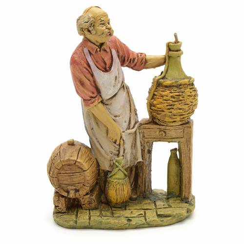 Nativity set accessory, Cellarman figurine 13cm s1