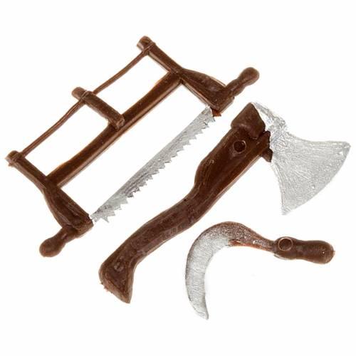 Nativity set accessory, farmer tools s1