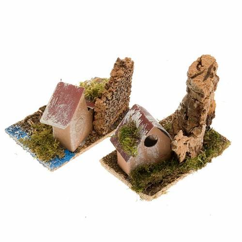 Nativity set accessory, Houses setting s2